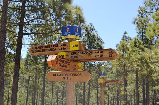 Signposts, Gran Canaria