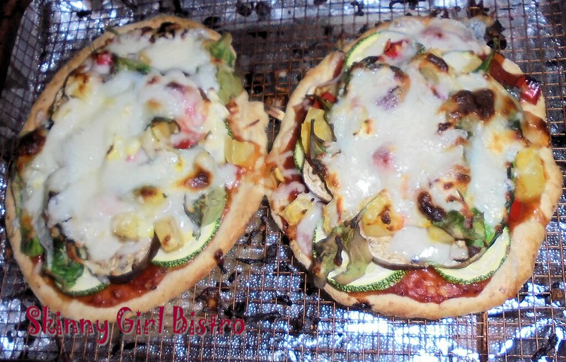 Photo: Zucchini, Eggplant, & Beets Pizza