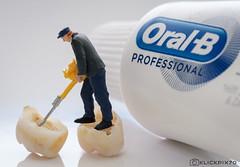 Macro Mondays - Oral B -  use it or loose it