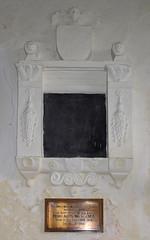 lost inscription, anonymous memorial (17th Century)