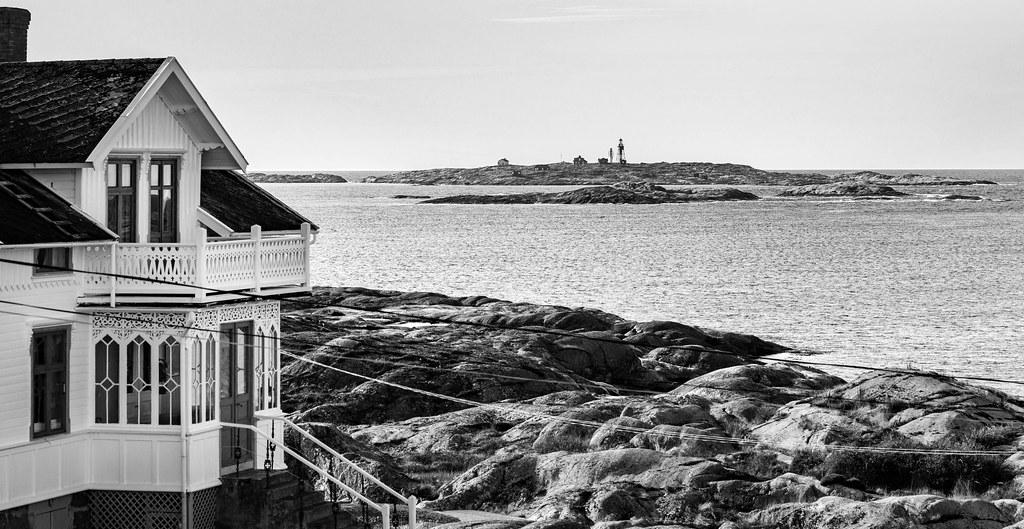 Fine view from the balkony - Måsekär Lighthouse