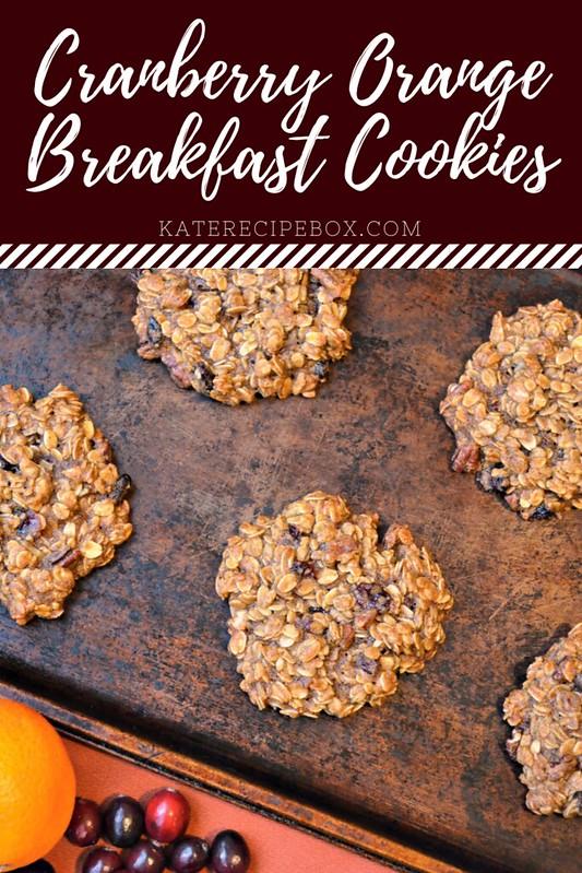 Cranberry Orange Breakfast Cookies (1)