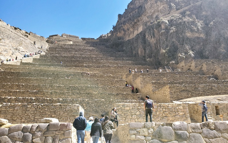 Ollantaytambo steps