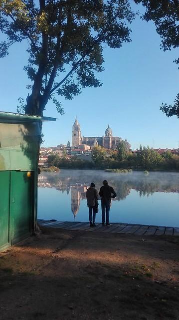 Salamanca. La niebla se retira.