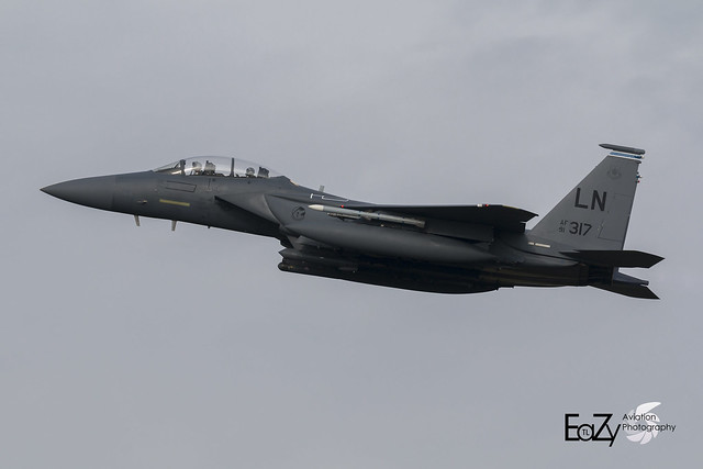 91-0317 United States Air Force McDonnell Douglas F-15E Strike Eagle
