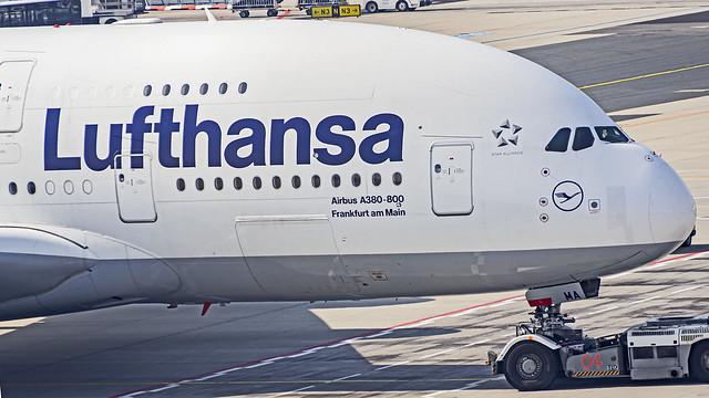 Lufthansa Airbus A380-800 D-AIMA