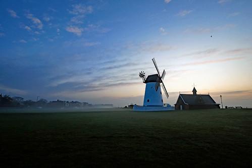 Early morning at Lytham Windmill