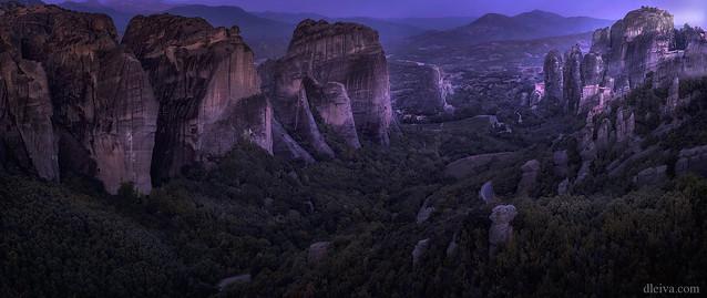 Amanecer en Meteora