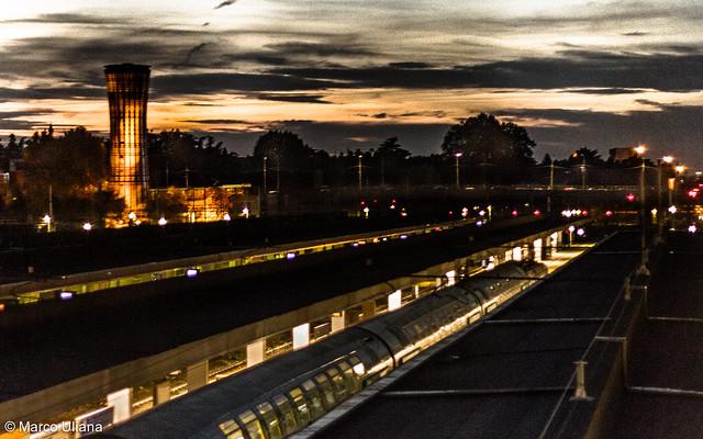 Sunset on Garibaldi Station