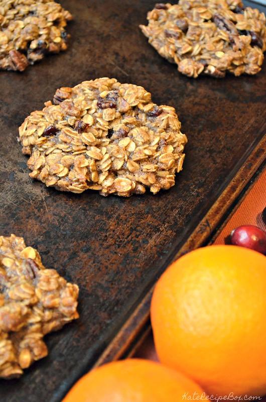 Cranberry Orange Breakfast Cookies 3