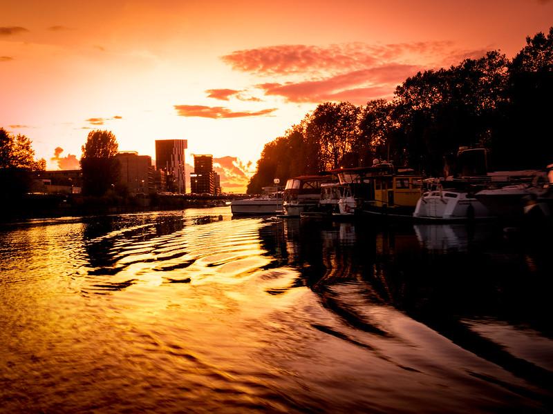 Crépuscule doré sur le canal... 49008092456_031ce9d1a7_c