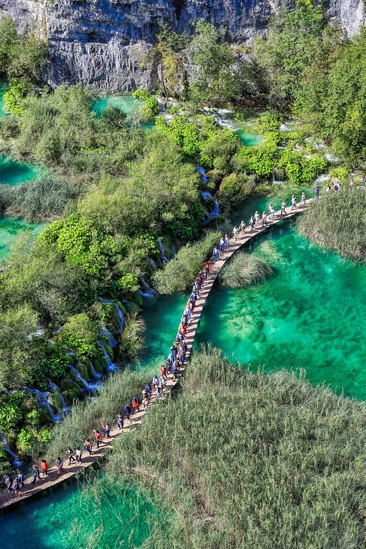 True View Of Plitvice