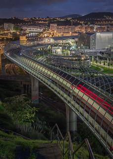 Estacion de Metro de Urbinaga