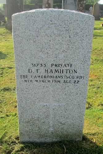 War Grave, Kirkcowan