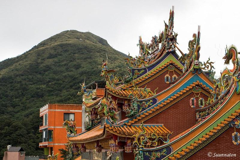 Taiwan, Jiufen, Mount Keelung