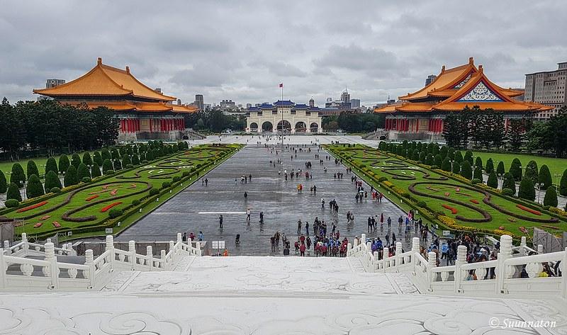 Taiwan, Taipei, Vapauden aukio
