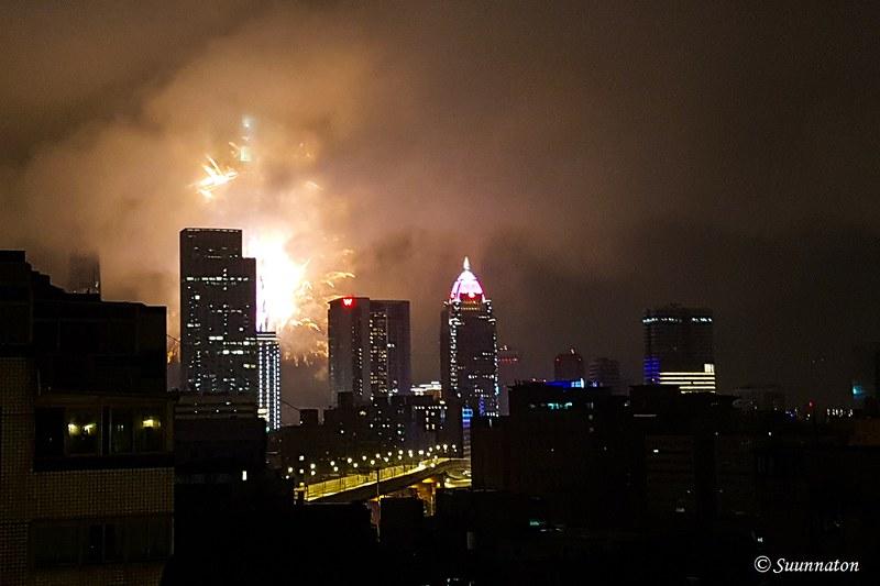 Taiwan, Taipei, uusi vuosi