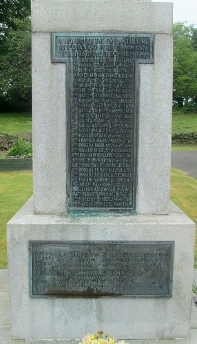 Dedications Kirkcowan War Memorial