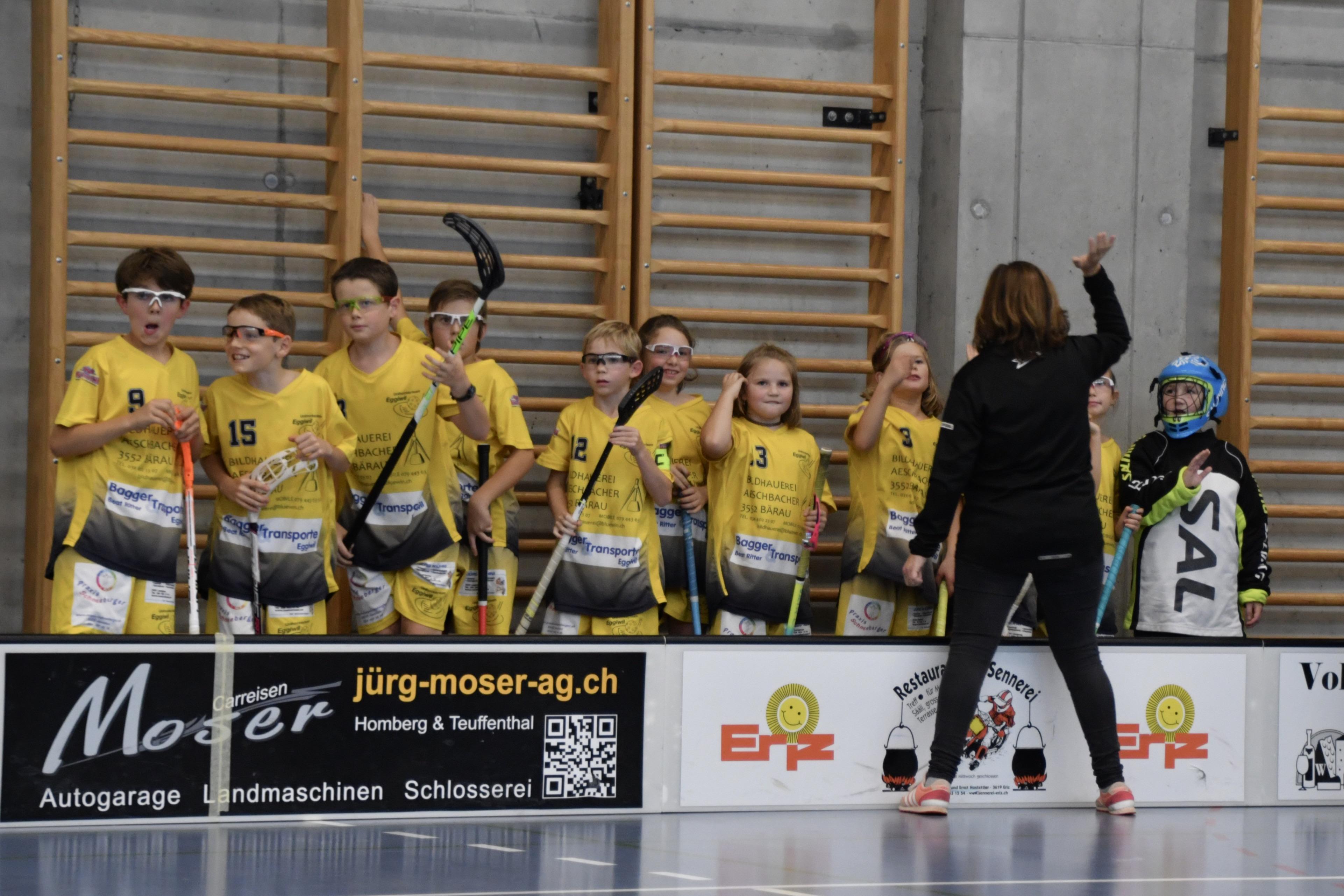 Junioren D Eggiwil - UHT Schüpbach l  Saison 2019/20