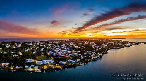 bemruda drone islandlife paradise sunset