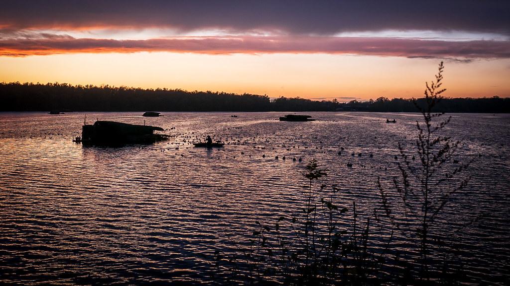 Fin de journée sur l'étang d'Amaury 49008831231_6638811512_b