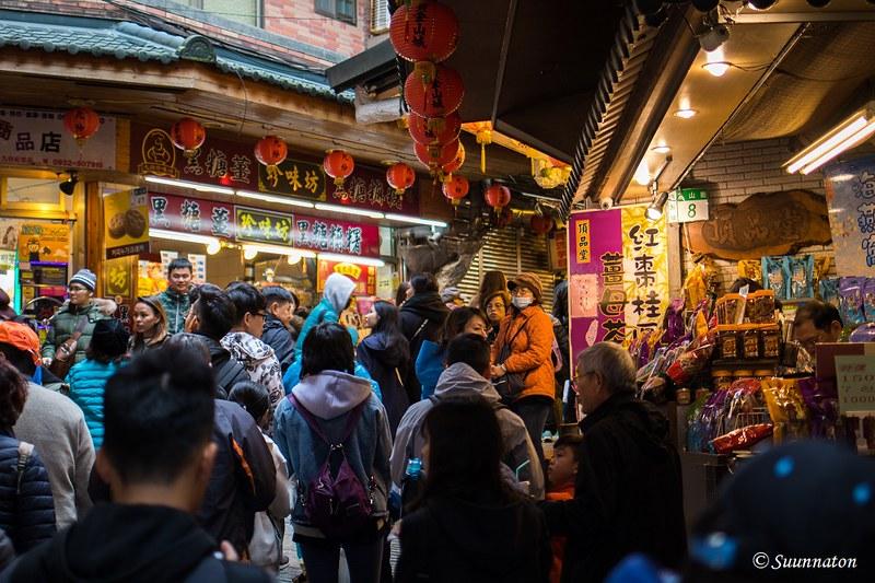 Taiwan, Jiufen, Old Street