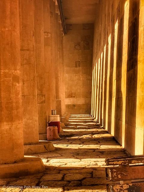 Al-Deir Al-Bahari Temple, Luxor, Egypt