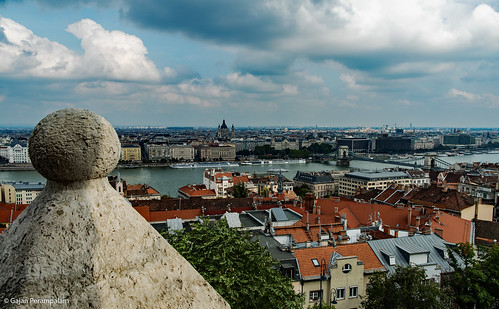 Budapest from Fisherman's Bastion | by Gajan Perampalam