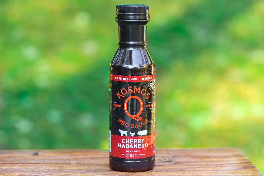 Kosmos Q Cherry Habanero Barbecue Sauce