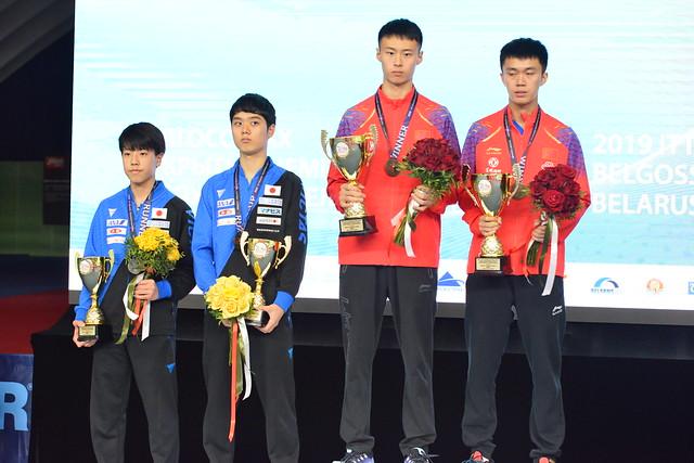 Day 3 - 2019 ITTF Challenge Belarus Open