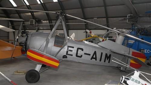 Avro 620 Cierva C-19 Mk4P in Madrid