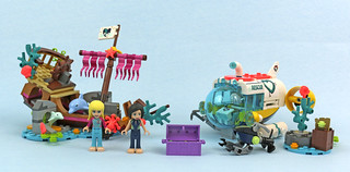Review:  41378 Dolphins Rescue Mission