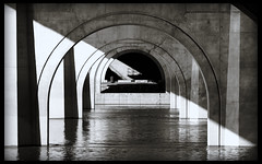 under the founders bridge