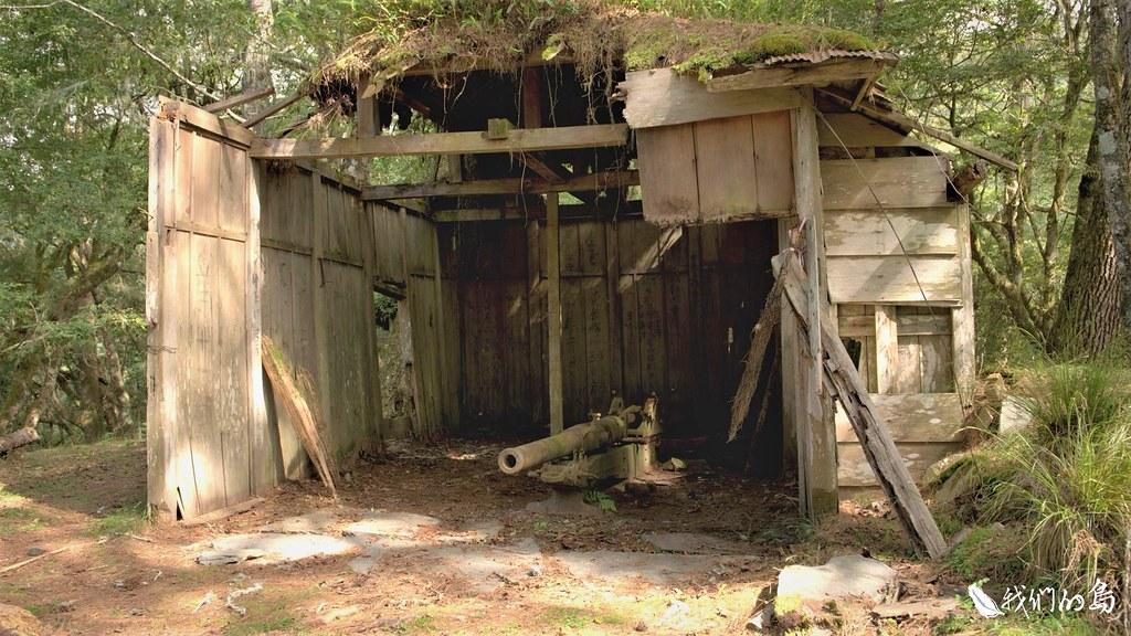 華巴諾是日治時期駐在所的典型,不論是駐在所雙拼官舍、砲庫,都還保存良好。