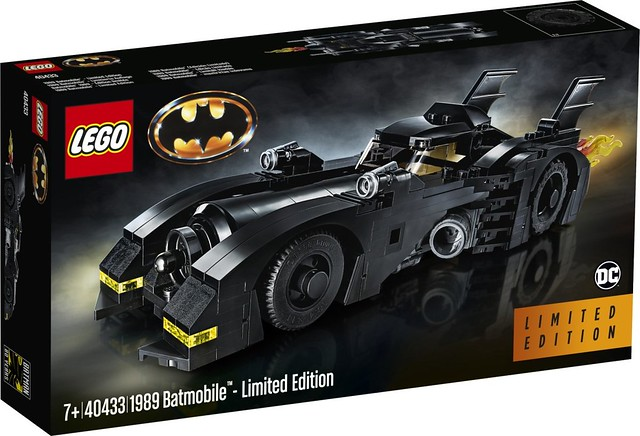 千萬不可錯過的買大送小機會?! LEGO 40433《蝙蝠俠(1989)》蝙蝠車 Batmobile - Limited Edition 官圖公開~