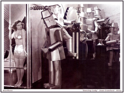 Robots - Dancing Lady   Joan Crawford  1933