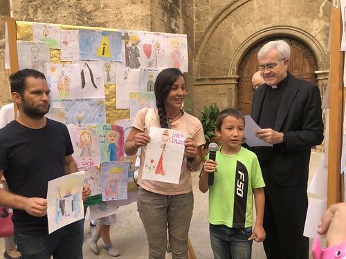 "Drawing Contest ""The friendliest Santo"". November 2019"