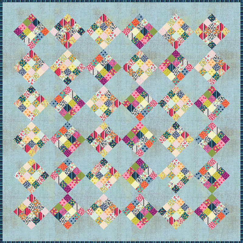 Checkerboard quilt