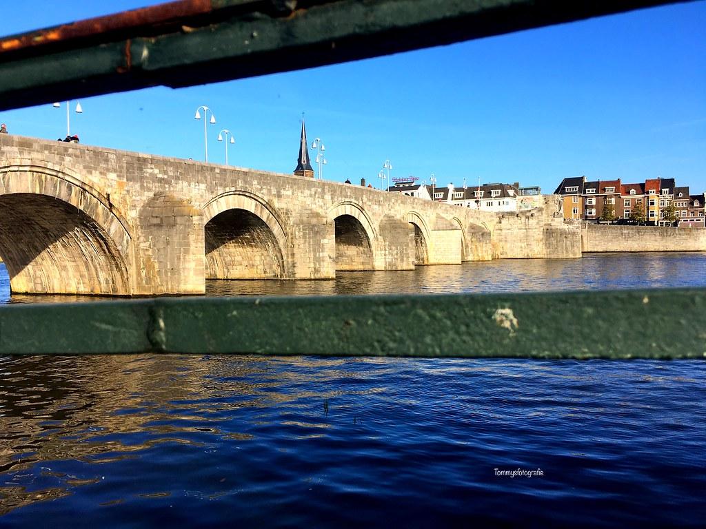 Maastricht, the old bridge
