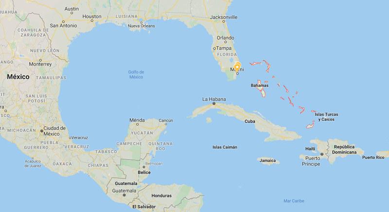 Bahamas mapa-2