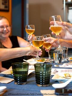 Sound & Savor - Cheers to Peach Cider