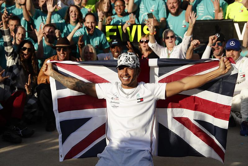Lewis Hamilton。(達志影像)