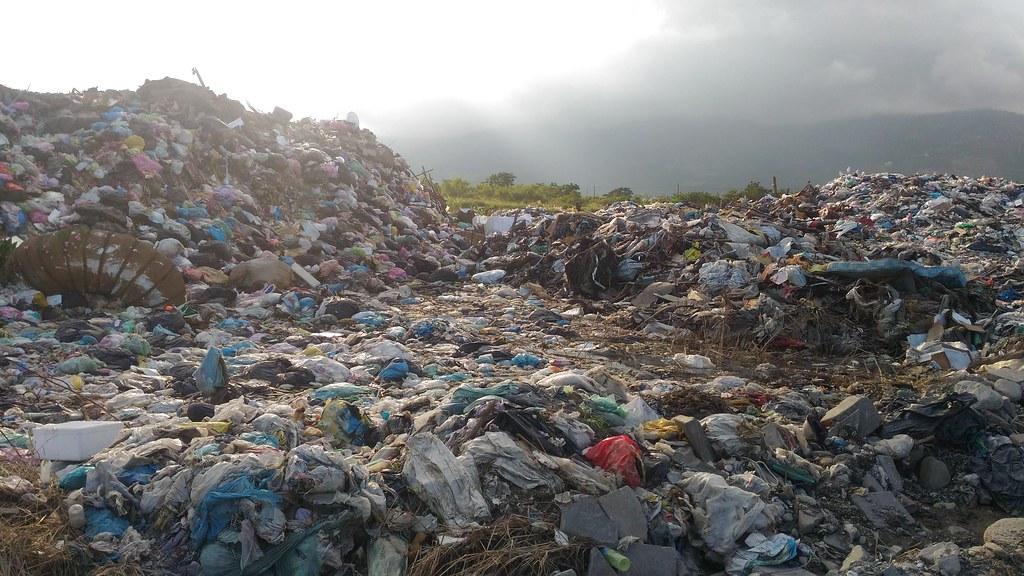 台東縣垃圾掩埋場示意圖。資料照