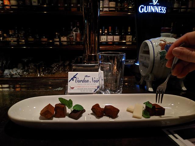 chocolate dessert @ La Cordon Noir
