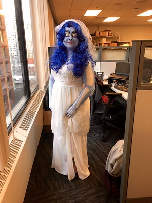 Corpse Bride at the office