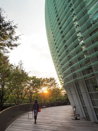 tokyo roppongi 新国立美術館 museum artmuseum thenationalartcenter sunset