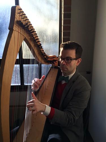 Jason McKinney, harpist