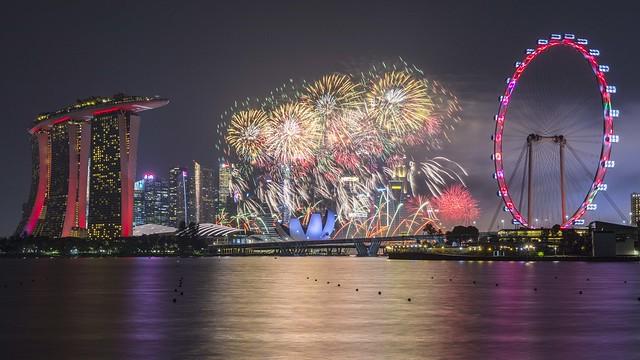 Singapore NDP Fireworks [Explored 4 Nov 2019]