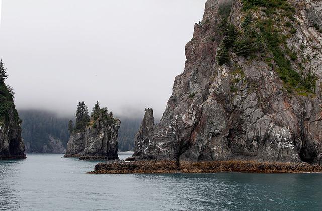 Sea Stacks Alaska