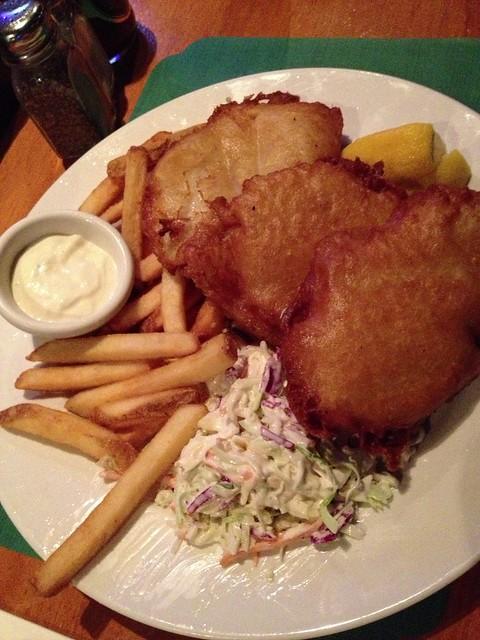 Fish & Chips @ Dargans